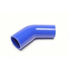 Κολάρο Σιλικόνης  Συστολή Φ102mm σε Φ54mm - 45° Γωνία -  Μπλε - (09B3017)