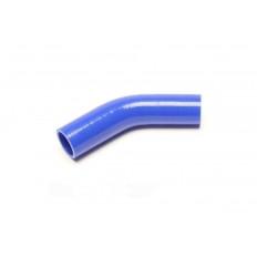 Κολάρο σιλικόνης μπλε 45° Γωνία συστολής 102mm, 38mm σε 35mm - (09B8005)