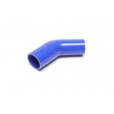 Κολάρο σιλικόνης μπλε 45° Γωνία συστολής 102mm, 54mm σε 48mm - (09B8007)