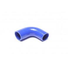Κολάρο σιλικόνης μπλε 90° Γωνία συστολής 102mm, 54mm σε 48mm - (09B9007)