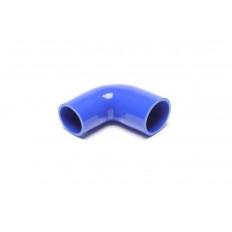 Κολάρο σιλικόνης μπλε 90° Γωνία συστολής 102mm, 60mm σε 51mm - (09B9009)