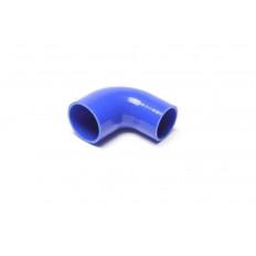Κολάρο σιλικόνης μπλε 90° Γωνία συστολής 102mm, 76mm σε 63mm - (09B9010)