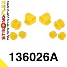 Σινεμπλόκ Πολυουρεθάνης Strongflex Sport εμπρός αντιστρεπτικής Kit Sport - (136026A)