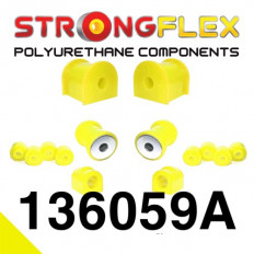 Σινεμπλόκ Πολυουρεθάνης Strongflex Sport μπροστινού άξονα κιτ Sport - (136059A)