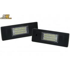 Φώτα πινακίδας Led πίσω 6000K BMW Σειρά 1/6/Ζ ( E81+ E63 + Z4) / Mini Clubman - (22072)