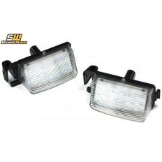 Φώτα πινακίδας Led πίσω 6000K Nissan 350Z + 370Z (GTR) | Infiniti (G35 + G37) - (28338)
