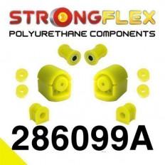 Σινεμπλόκ Πολυουρεθάνης Strongflex Sport set εμπρός Polyurethane Sport Nissan 100Nx B13 / Almera N15 / Sunny N14 - (286099A)