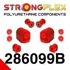 Σινεμπλόκ Πολυουρεθάνης Strongflex set εμπρός Polyurethane - (286099B)