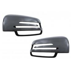 Καπάκια καθρεπτών γνήσια carbon Mercedes Benz Classes A, B, C, CLA, CLS, E, GLA, GLK, S - (89715CFR)