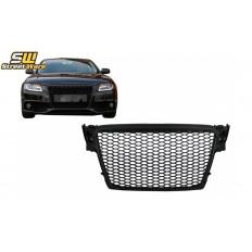 Μάσκα / Sport Grill AUDI A4 B8 (2008-2011) Look RS4 (Μαύρο)