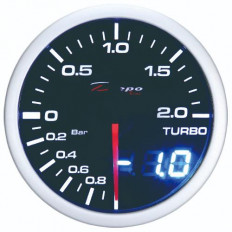 Mπαρομετρο ψηφιακό / αναλογικό 60mm Led Depo