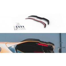 Αεροτομή / Spoiler Lip ΜΑΧTON DESIGN V.2 Ford Focus ST-Line Mk4 μαύρο γυαλιστερό