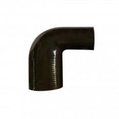 Κολάρο σιλικόνης μαύρο 90° Γωνία συστολής 60mm-51mm - (HR90-60-51mm)