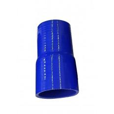 Κολάρο σιλικόνης ίσιο συστολής μπλε Φ51>45 - (HSR127MM-51-45MM)
