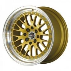 Ζάντα Αλουμινίου Japan Racing Jr10 18X10,5 (Et25) 5X112/114,3 Χρυσή - (JR101810ML2574GD)