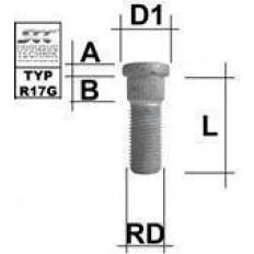 Μπουζόνι πολύσφηνο SCC M14x1,5 L: 41 mm - (M1415RE41X)