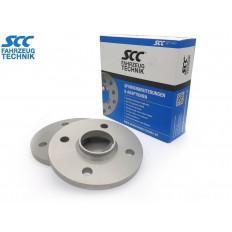 10mm  Σετ αποστάτες τροχών με χειλάκι SCC  Καρέ: 4x100 Κέντρο μουαγιέ: 54,1 - (12162E)