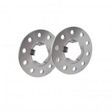 10mm  Σετ αποστάτες τροχών με χειλάκι SCC  Διπλού καρέ: 5x130 Κέντρο μουαγιέ: 71,6 + 71,5 O - (12689)