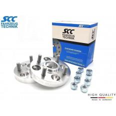 20mm  Σετ αποστάτες τροχών SCC  Καρέ: 4x100 Κέντρο μουαγιέ: 54,1 - (14025S)