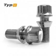 Μπουλόνι Ασφαλείας Type B M12x1,25 / Μήκος: 25mm / Κλειδί: 19-21 / Κωνικό 60°