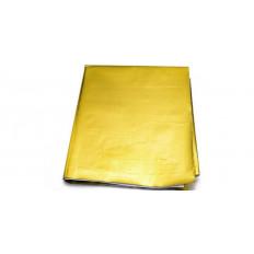 Θερμοανακλαστική χρυσή μεμβράνη σε φύλλα 30χ25