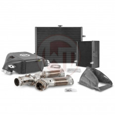 Intercooler + Ψυγείο / Downpipe competition package Wagner Tuning BMW M3-M4 S55 - (WG.700001124)